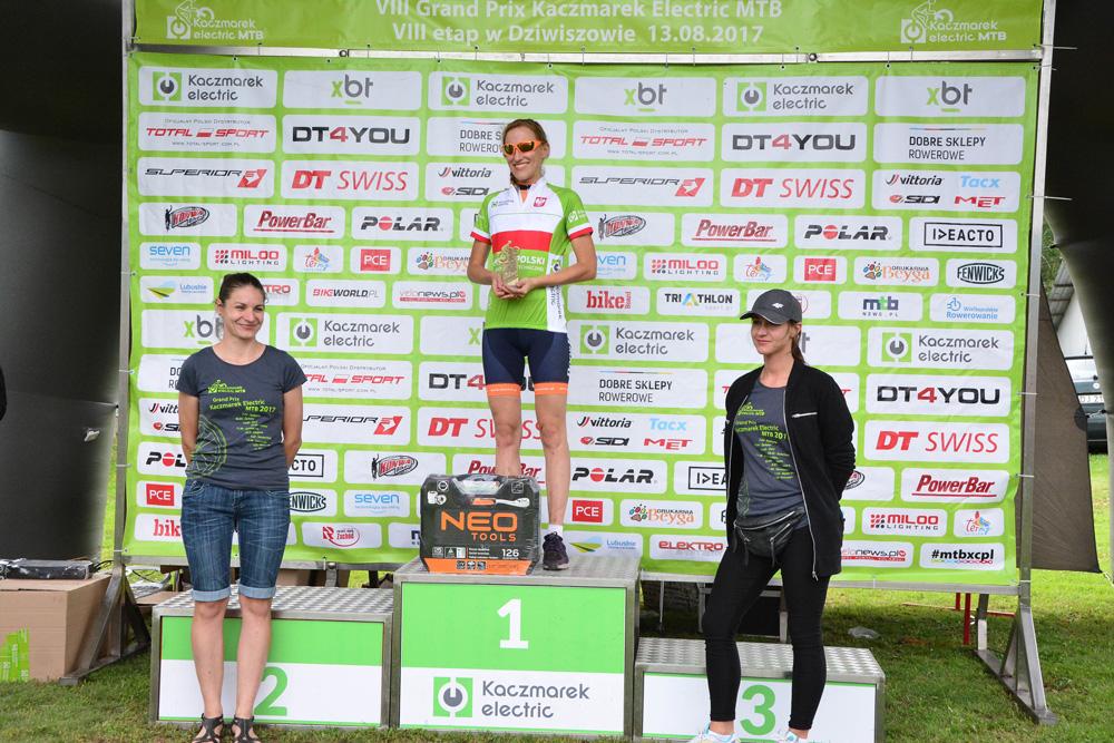 Magdalena Janczura, jedyna z pań, która reprezentowała branżę elektrotechniczną podczas mistrzostw.