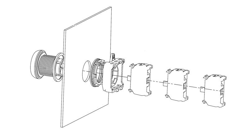 Rys. 1. Modułowa budowa elementów systemu ETISIGI