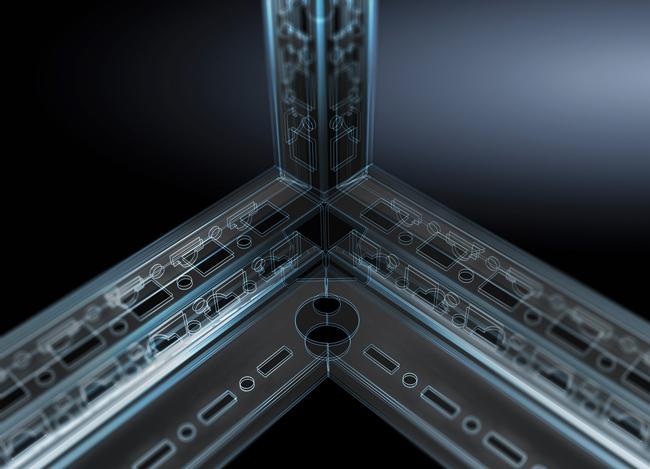 W zakładach Rittal w Rittershausen w Niemczech produkcja szaf pełnogabarytowych VX25 jest realizowana na ultranowoczesnych liniach zgodnych z zasadami Przemysłu 4.0.