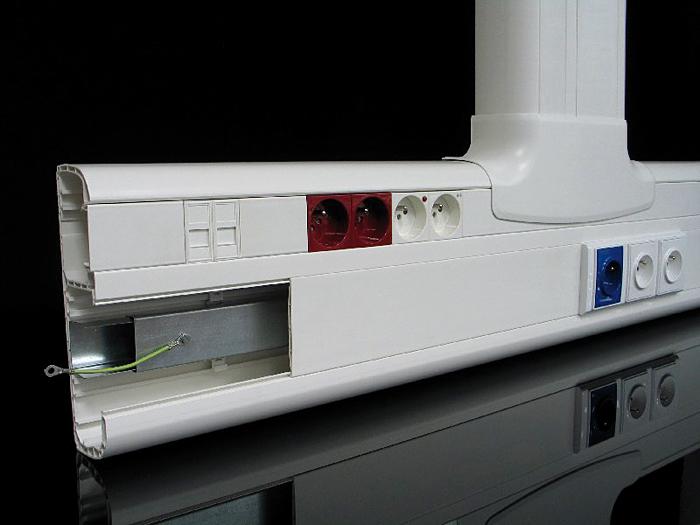 Kanały parapetowe PK…D to estetyczne rozwiązanie systemowe do rozprowadzania instalacji we wnętrzach