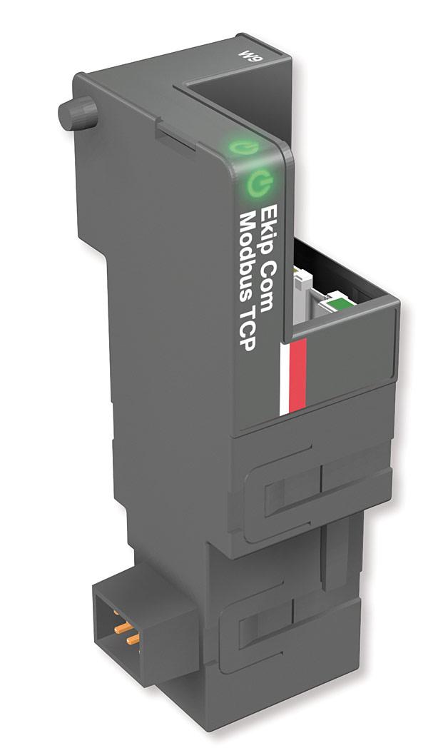 Rys. 4. Wtykowy moduł komunikacyjny Ekip Com Modbus TCP