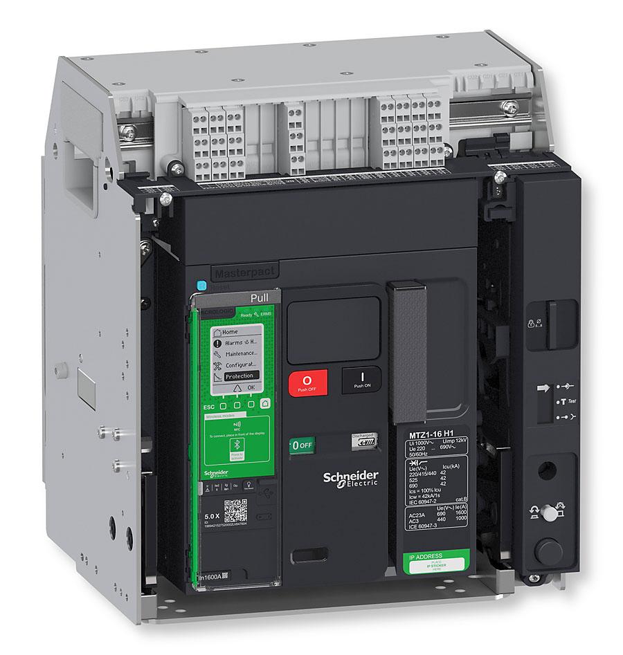Masterpact MTZ to szeroka gama wyłączników powietrznych przeznaczonych do ochrony instalacji elektrycznych przed uszkodzeniami spowodowanymi przeciążeniami, zwarciami i doziemieniem