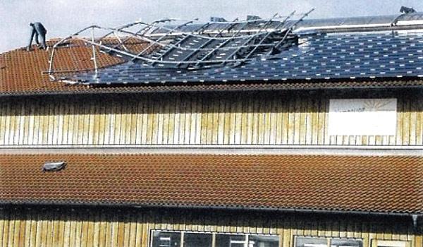 Błędy w konstrukcji nośnej instalacji PV mogą skutkować brakiem wymaganej wytrzymałości (Źródło: www.pvpowerway.com)