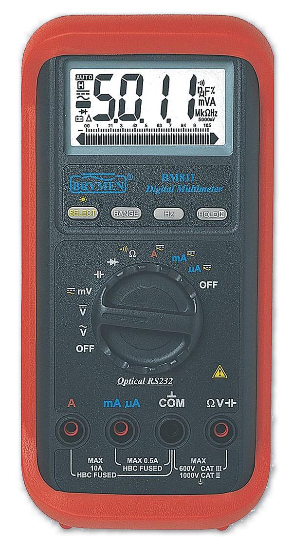 Multimetr cyfrowy Brymen BM811a