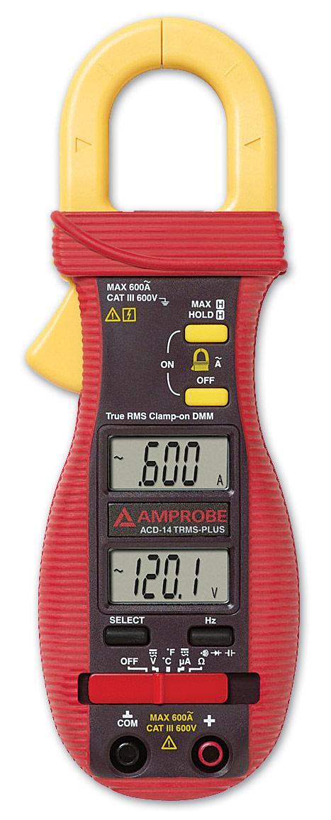 Multimetr cęgowy Amprobe ACD-14 TRMS Plus