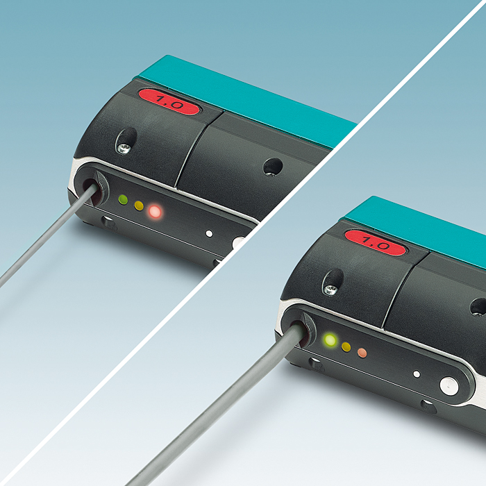 Rys. 3. Crimphandy jest wyposażony w przycisk włączania/wyłączania oraz trzy diody LED wskazujące stan roboczy