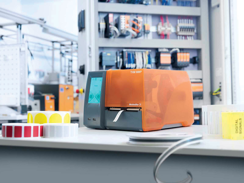 Rys. 1. System MultiMark z drukarką termotransferową THM MMP