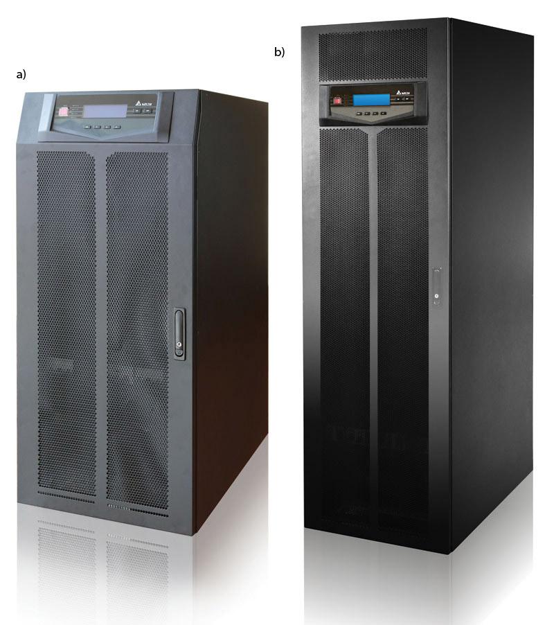 Zasilacze UPS Ultron HPH o mocy: a – 60 kVA; b – 120 kVA