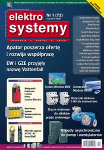 Elektrosystemy 01/2006